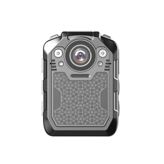 SURWAY 1296P UHD Body Camera with Audio (build-in 64GB), 2 Inch Display, Night Vision, Waterproof, Shockproof, Body Worn Camera with Compact Design, Police Camera for Law Enforcement