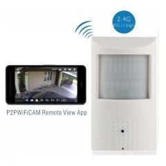 HD 1080P Wireless Hidden WIFI IP Camera with IR-CUT, 48pcs 940nm Leds 3.7mm Pinhole lens