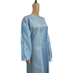 Isolation Gown AAMI Level 2 Polyester