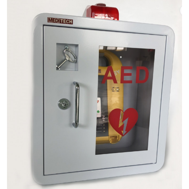 Outdoor Metal First Aid AED Cabinet with Alarm