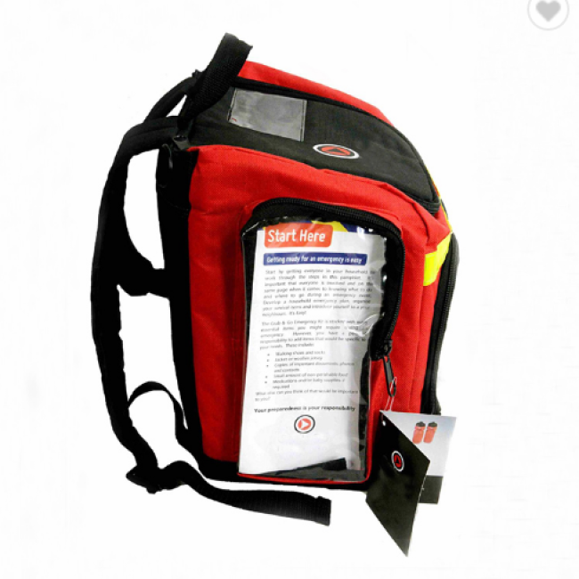 Disaster Emergency First Aid Kit Backpack Earthquake Survival Kit