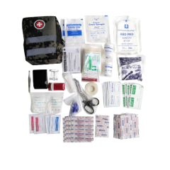 Tactical Trauma Kit with Reflective Stripe Military Medical First Aid Kit