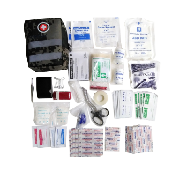 Military Emergency Tactical Trauma Kit Small Medical First Aid Kit