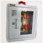 Trade Assurance Round Corner Metal Box AED Cabinet for First Aid Use