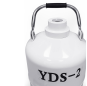Best Sell YSD-2L Liquid Nitrogen Canister Storage Cryogenic Container In Hospital
