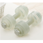 Adjustable Water Injection Plastic Dumbbell Barbell Fitness Equipment Water Filled Dumbbells