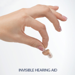 Mini Cic Ear Hearing Amplifiers Analog Invisible Hearing Aid