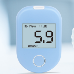 Blood Sugar Test Kit Blood Sugar Glucose Meter Electric Online Technical Support 2 Years Removable Battery Class I