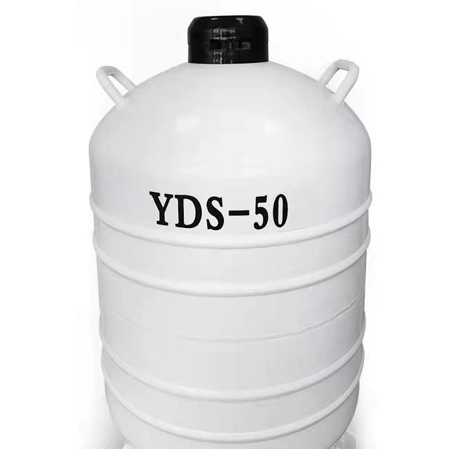 YDS-50 Liquid Nitrogen Tank Mini Cryogenic Storage Container