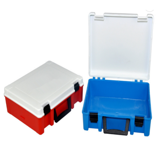 CE ISO Approval First Aid Kit Box Wall Mount with Lock First-aid Devices Class II Manual