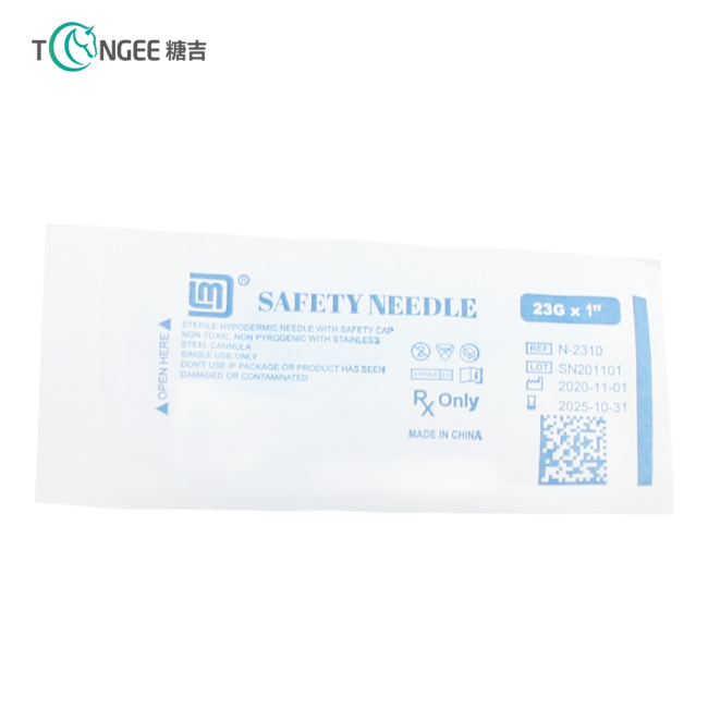 Disposable Safety Blood Collecting Needles for Single Use
