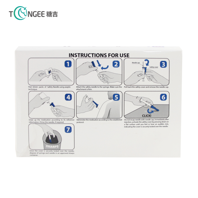 Factory cheap new products disposable safe medical hypodermic needle