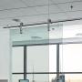 modern sliding door system accessories shower doors sliding tempered glass sliding rail for sliding door
