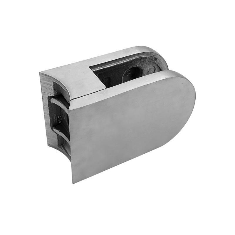 wholesaler frameless stainless steel glass shower clamps balustrade railing glass clamp