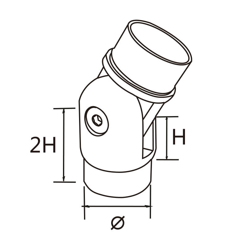 swivel connector 304 316 adjustable angle stainless steel elbows