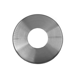 stainless steel round tube cover cap deck flat railing cover pool handrail base plate cover