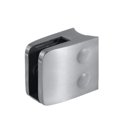 stainless steel glass balustrade hardware glass clip bracket 90 degree glass corner clamp