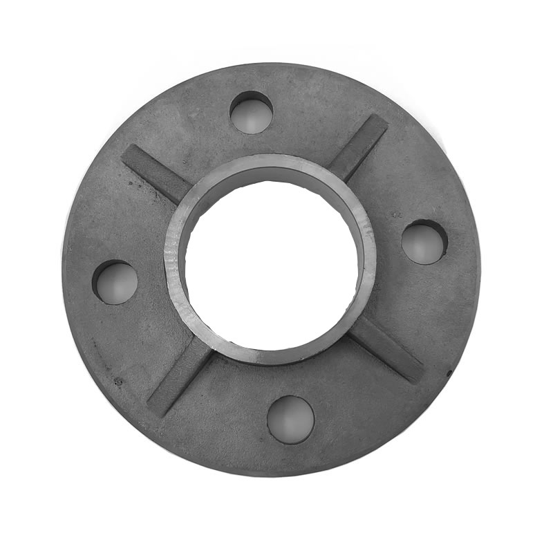 railing Accessories stainless steel round tube base plate handrail mounting floor flange base