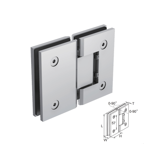 high quality german technology ss304 wall hinges glass door stainless steel hinges