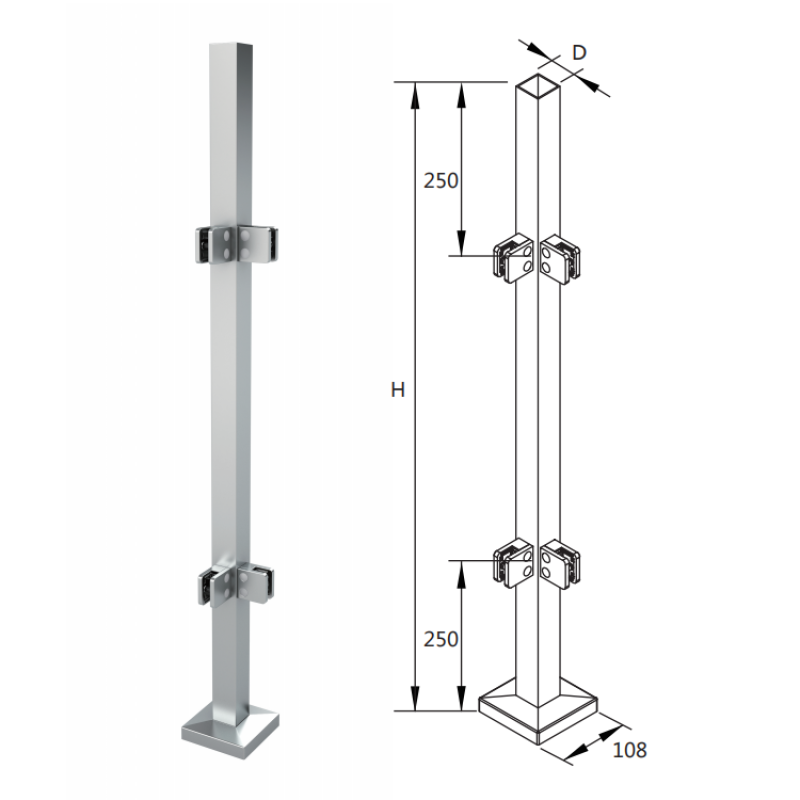 german craft handrails fitting balustrades stainless steel handrail post design with glass clamp