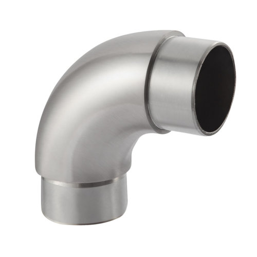 stainless steel staircase elbow handrail stainless steel pipe fitting elbow