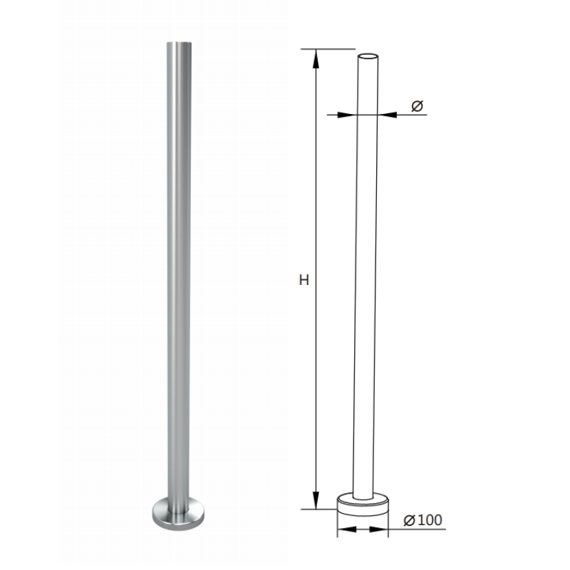 german craft hot sale balcony rail stainless steel glass stair handrail post glass balustrades post railing post