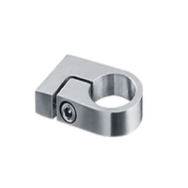 high quality stainless steel handrail fittings fine stainless handrail accessories post tube clamp for railing system