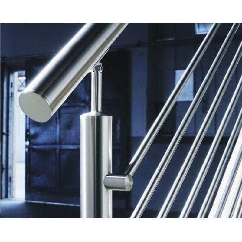 Construction Real Estate Balustrades Handrails Stainless steel handrail cross bar holder Railing Accessories Bar holder