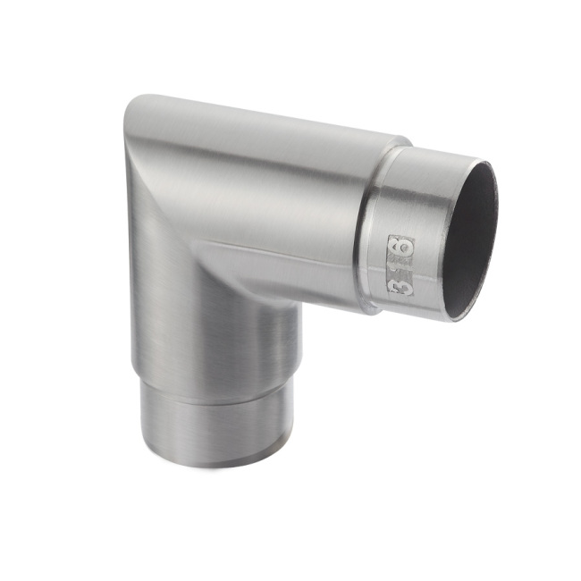 precision casting railing fittings stainless steel elbow accessories handrail elbow