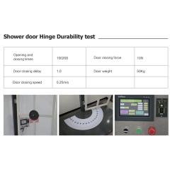 luxury bathroom shower stainless steel push pull glass door handle