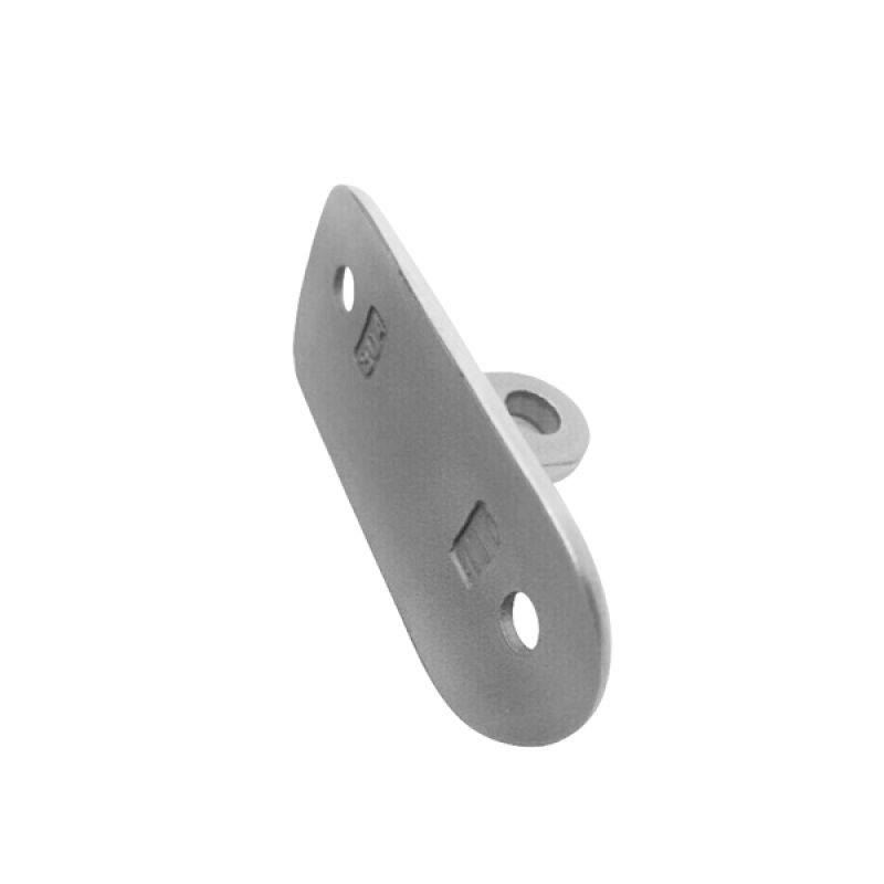adjustable Angle 304/316 stainless handrail steel saddle for supporting railling tube