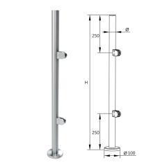 german craft top post handrail hardware frameless handrail balustrade stair railing stainless steel post