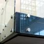 stainless steel frameless glass balustrade standoff railing stair glass standoff mount