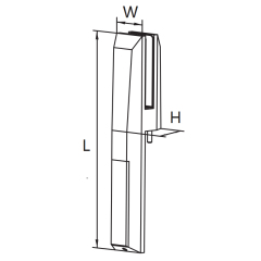 stainless glass spigot fence glass balcony black matt black spigot glass railing