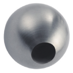 Satin Polished Inox Hollow Sphere Decoration 340 Stainless Steel Ball