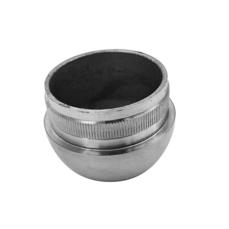 handrail accessories stainless steel end cap 304 stainless steel round tube end cap