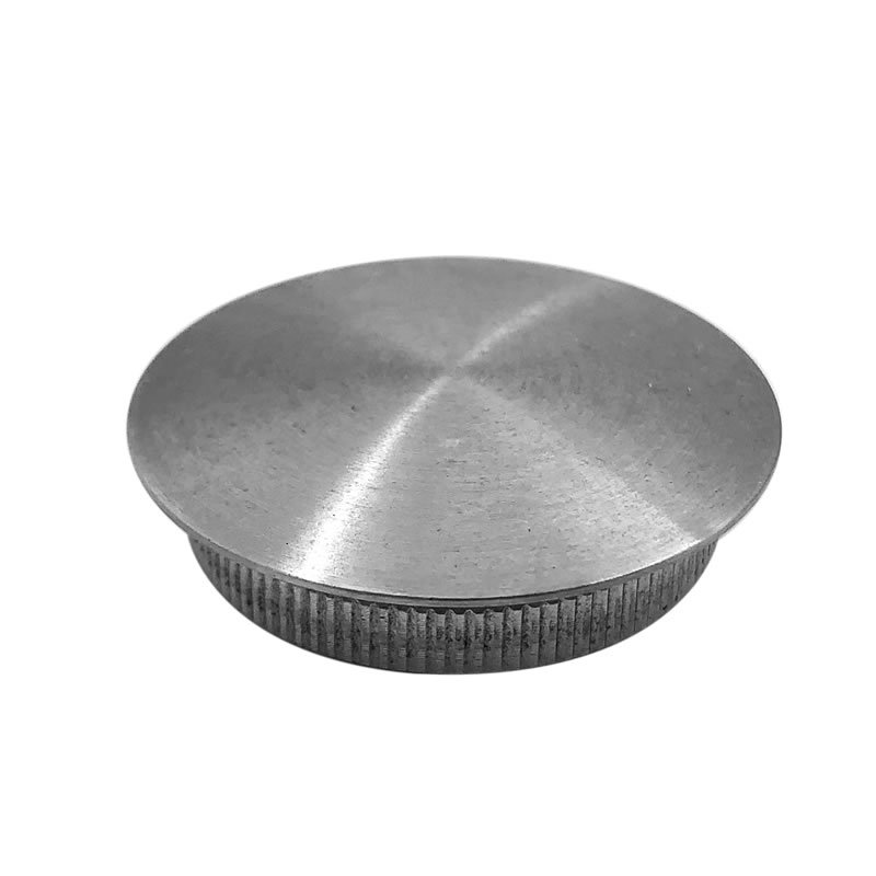 guaranteed quality stainless steel railing handrail accessories pipe threaded tube end cap