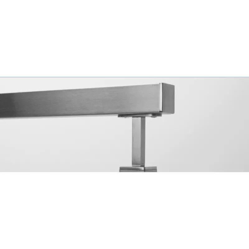 vertical handrail bracket support stainless steel pipe round bracket saddle handrail accessories