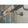 304 316 stainless steel angles glass clamp handrail post accessories glass balustrades handrail for commercial