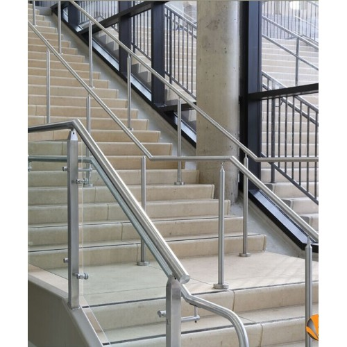 stainless steel railing handrail elbow joint connector for railing