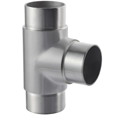 3 feeders T elbow handrail tube stainless steel elbow prices for balustrade