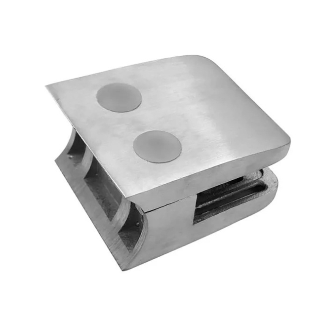 stainless steel clamp outdoor stair glass balustrade brackets glass clamp for railing