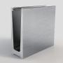 swimming pool aluminum railing profile tempered glass aluminum u channel glass railing for frameless
