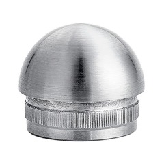 304 ss connection handrail accessories stainless steel pipe end cap