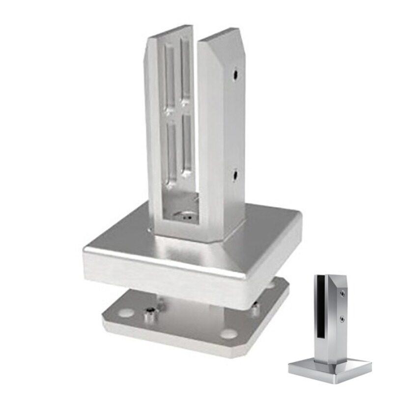 german craft ss304 2205 adjustable glass deck railing spigot railing glass fence stairs spigot