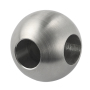 staircase hollow ball railing stainless steel 2 hole fitting hollow decoration ball