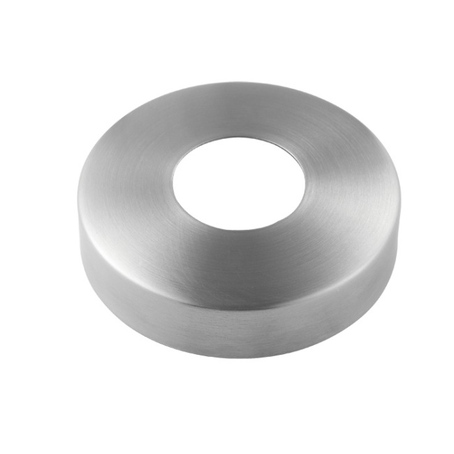 handrail fittings stainless steel round balcony stairs handrail cover