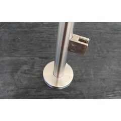 railing handrail accessories neck floor wall flange stainless steel handrail post base plate pipe floor flange