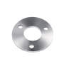 Railing Handrail Fittings Stainless Steel Disc Base Plate With Four Holes