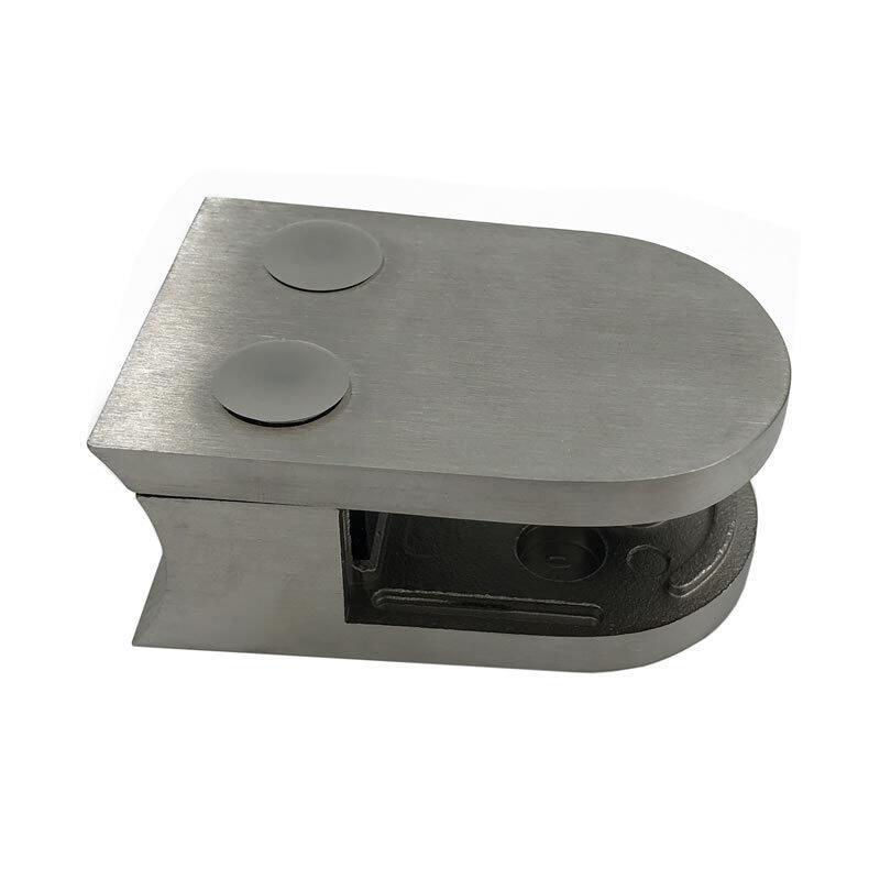 stainless deck railings handrail d shape shower room door glass clamp for 10mm